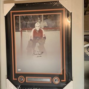 Other - Bernie Parent Signed Flyers 16x20 Photo Framed